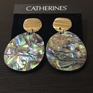 Catherines ~ Sea Swirl Drop Earrings